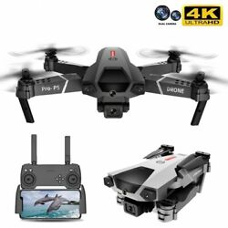 2021 New P5 Drone 4K Dual Camera Professional Aerial Photography Infrared Obstac $37.08