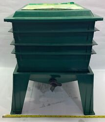 Worm Factory 360 Upward Migration 5 StackingTray Composting Bin Made In USA $59.99