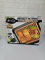 Gotham Steel Smokeless Electric Indoor Grill Nonstick amp; Portable Small $49.90