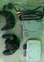 original PS1 and PS1 mini with controllers and games $175.00