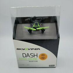 Sky Viper DASH Nano Drone Indoor flying New sealed $19.99