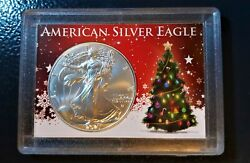 Christmas 2021 American Silver Eagle Type 2 $42.00