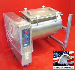 Meat Poultry Tumbler Marinator NSF 304 HEAVY DUTY STAINLESS STEEL MADE IN USA $9671.90