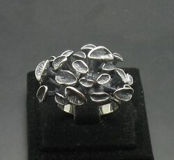 EXTRAVAGANT STERLING SILVER RING SOLID 925 SIZE 3.5-11