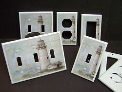 LIGHTHOUSE NAUTICAL #3   LIGHT SWITCH COVER PLATE OR OUTLET COVER $6.29