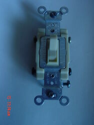 Leviton Ivory 4-Way COMMERCIAL Switch 15 Amp 54504-21 10 each $42.00