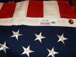 Commercial Grade Valley Forge American Flag 3#x27;x5#x27; sewn Koralex II™ USA