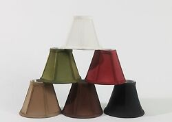 Urbanest Empire Chandelier Lamp Shade in SilkSoft Bell 3quot;x 6quot;x 5quot;6 Colors $7.99