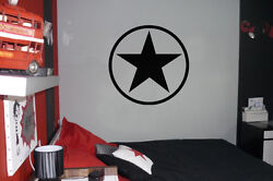 Army Star Military Car Wall Decal Sticker BIG OR SMALL HIGHEST QUALITY $9.00