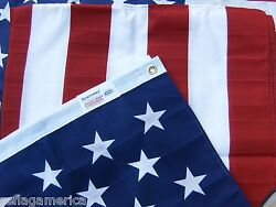 Valley Forge US American Flag 3#x27;x5#x27; PRINTED Poly Cotton 100% Made in the USA $16.00