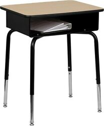 Student Desk with Open Front Metal Book Box - Classroom Desk $87.95