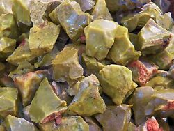 2000 Carat Lots of Green Opal Rough - Plus a FREE Faceted Gemstone