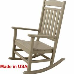 Patio Polywood Rocker Outdoor Deck Porch Furniture Rocking Chair Made in USA