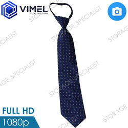 Professional Office Spy Hidden Tie Hidden Remote Camera Evidence Proof AU $189.95