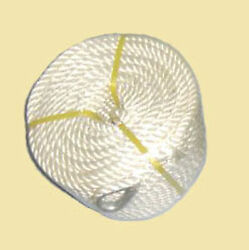 1 2quot;x100#x27; Twisted Three Strand Nylon Anchor Rope Boat with Thimble $22.98