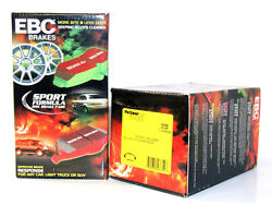 EBC Yellowstuff StreetTrack Brake Pads (Front & Rear Set) BMW E90 E92 E93 335