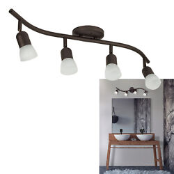 4 Light Track Lighting Ceiling Wall Interior Lamp Fixture Oil Rubbed Bronze $38.49