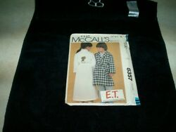 McCall's 8357 E.T. bathrobe size 6 iron on not included cut pattern 1982