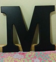 Wooden wall letters $10.00