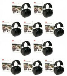 (10) PELTOR WORKTUNES PRO AM FM MP3 Radio HEADPHONES Hearing PROTECTION Defender