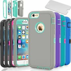 Protective Hybrid Shockproof Hard Case Cover For Apple iPhone 6 6S