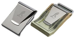 $Slim Clip Double Sided Money Clip Credit Card Holder Wallet New Stainless Steel $4.98