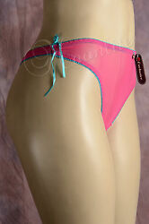 Lot of 6 Pair Sheer Lace Women Panty G String Sexy Thong Mixed Color S M L 91026 $9.99