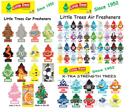 Little Trees Air Freshener . Pack of 1 . BUY 5 or GET 1 FREE . FREE SHIPPING C $2.50