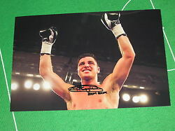 Hull Boxer Tommy 'Boom Boom' Coyle Signed & Inscribed Crowd Salute Photograph