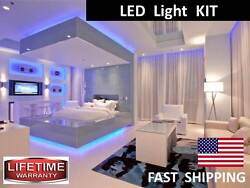 Under the BED LED Lighting KIT light up your goose down comforter and pillows $76.00