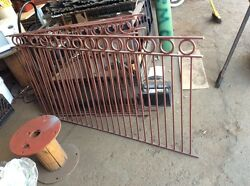 Wrought Iron railing - Handmade
