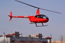 Robinson R44 Helicopter Flight Training $390 Per HR Fuel and Instructor Included $8030.00