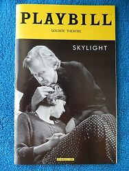 Skylight - Golden Theatre Playbill - May 2015 - Carey Mulligan - Bill Nighy
