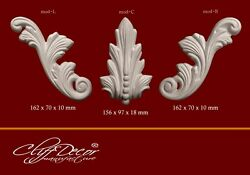 ● NEW *** plastic molds for CLASSIC DECOR plaster elements DIY making *** $63.00