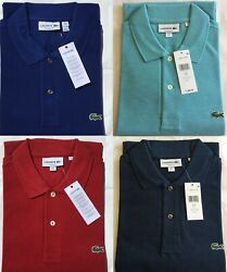 Lacoste Men's Classic Fit Pique Polo Shirt $55.99