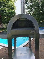 Outdoor Pizza Oven Wood Fired SS- ilFornino® Professional PLUS Call18773026660