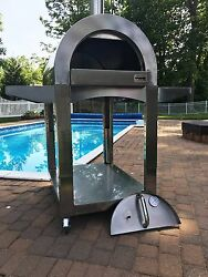Brick Pizza Oven Outdoor Grill Insulated Dome Wood Fired ilFornino® Pro PLUS