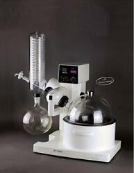 Rotary Evaporator 0.5-5L0-200rpm Digital display temp 0-180℃Automatic Lifting