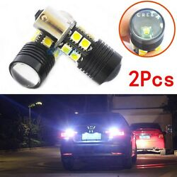 2x 1156 Error Free LED Reverse Back up Light project Bulb For Bmw E90 2005-2008