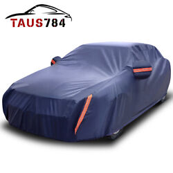 Full Car Cover Waterproof Dust-proof UV Resistant Outdoor All Weather Protection $39.99