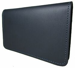 New Mens or Womens Leather Top Stub Checkbook Cover USA Made $24.95