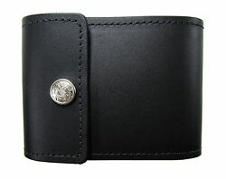 New Mens or Womens Leather End Stub Checkbook Cover USA Made $24.95
