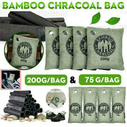 Air Purifying Bag Purifier Nature Fresh Charcoal Bamboo Mold Freshener 8 Bags US $19.99