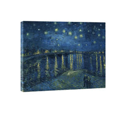 Canvas Prints Van Gogh Wall Art Painting Repro Pictures Home Decor Starry Night $13.59