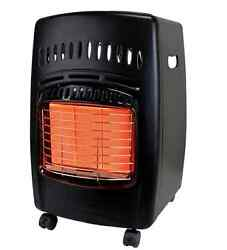 Dyna Glo 18K BTU Cabinet Portable Propane Tank Space Heater 3 Heat Settings ODS
