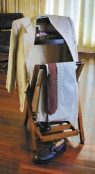 Butler's Buddy Portable Folding Valet Clothing Stand Furniture