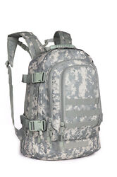 40L Outdoor Expandable Tactical Backpack Military Camping Hiking Trekking $31.99