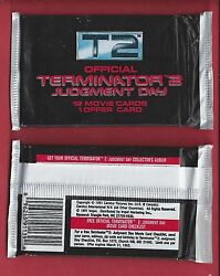 1991 Impel T 2 Terminator 2  single Wax Pack