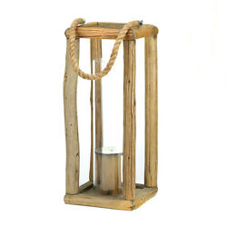 4 Rustic Cabin Style Candle Lantern Light Lamp Centerpiece Wedding CLEARANCE