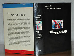 1ST1ST PRINTING W. ORIGINAL FIRST STATE DUST JACKET~ ON THE ROAD ~ JACK KEROUAC